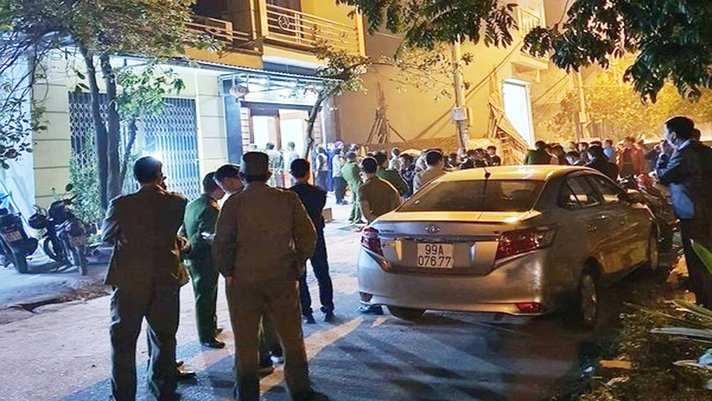 Chồng phát hiện vợ tử vong trong nhà, tài sản bị lấy cắp ở Bắc Ninh